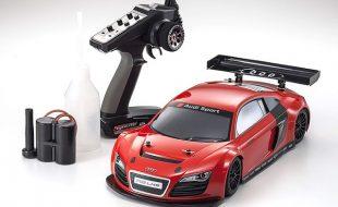 Kyosho ReadySet Audi R8 LMS Red GP FW-06 PureTen