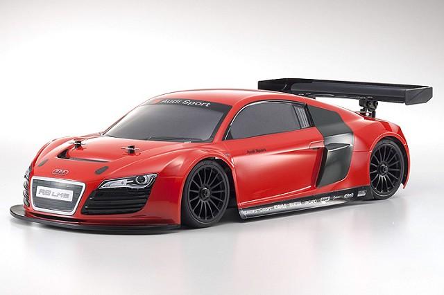 Kyosho ReadySet Audi R8 LMS Red GP FW-06 PureTen (3)