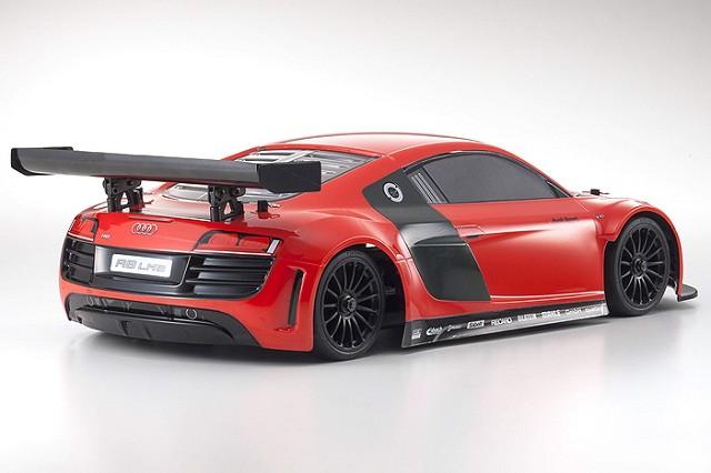 Kyosho ReadySet Audi R8 LMS Red GP FW-06 PureTen (4)