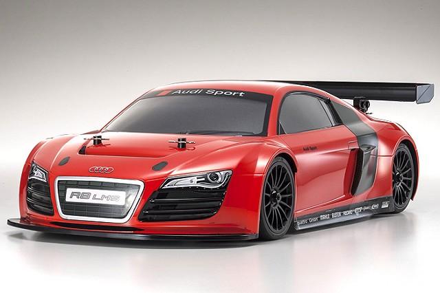 Kyosho ReadySet Audi R8 LMS Red GP FW-06 PureTen (5)