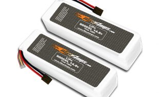 MaxAmps 9000XL 4s 14.8V X-Maxx Pair
