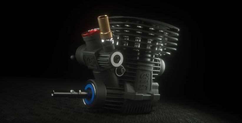 O.S. Speed B2102 1_8 Competition Buggy Engine