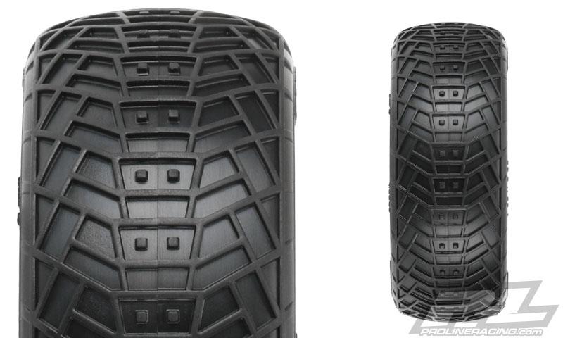 "Pro-Line Positron 2.2"" 2wd & 4wd M4_MC Buggy Front Tires (5)"
