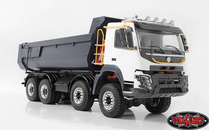 New Hess Truck 2018 >> RC4WD RTR 1/14 8x8 Armageddon Hydraulic Dump Truck - RC Car Action
