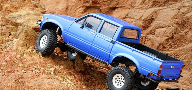 """RC4WD Trail Finder 2 RTR """"LWB"""" With Mojave II 4 Door Body"""