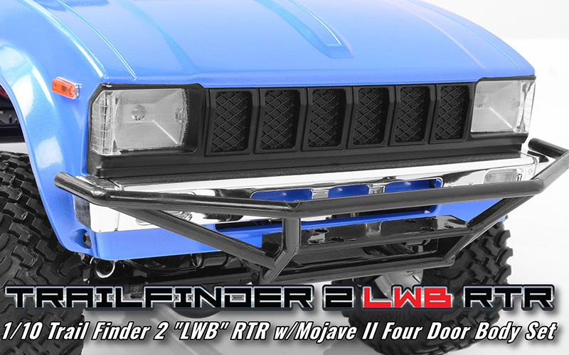 RC4WD Trail Finder 2 RTR LWB With Mojave II 4 Door Body (4)