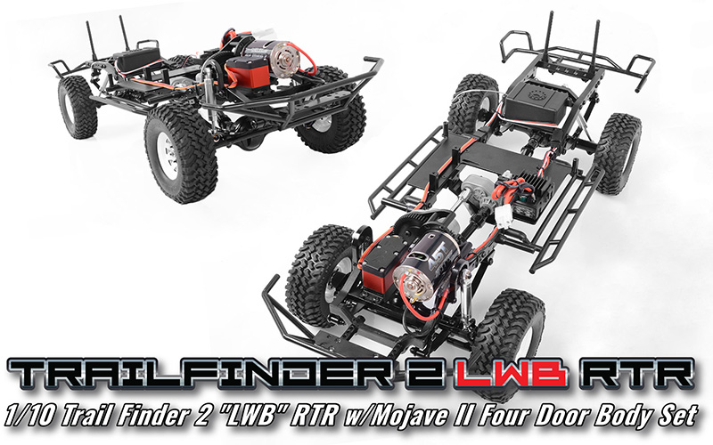 RC4WD Trail Finder 2 RTR LWB With Mojave II 4 Door Body (5)