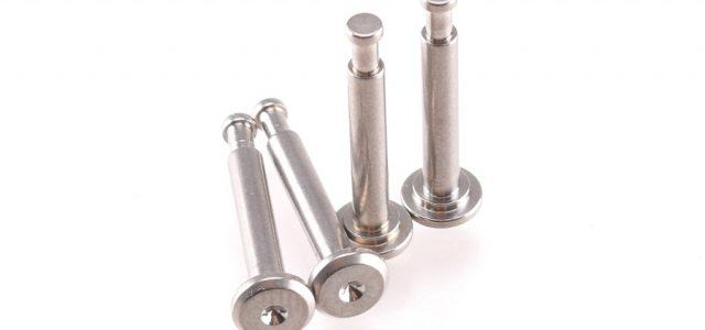 RDRP RC8B3 Titanium Shock Pins