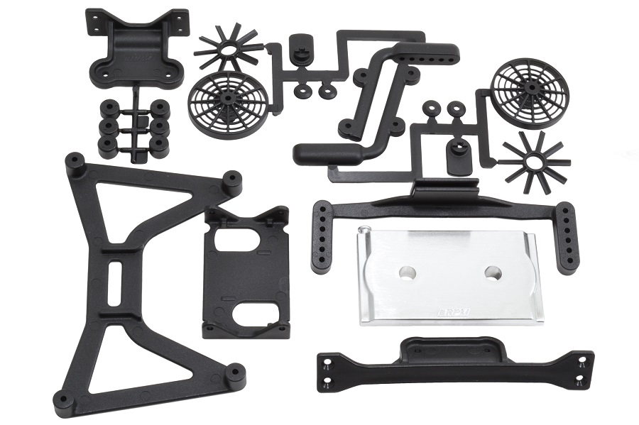 "RPM ""No Clip"" Body Mounts For The Traxxas Slash (4)"