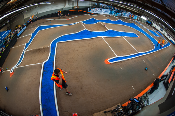 The track layout for the event is technical with some very challenging areas that is giving the drivers a test.