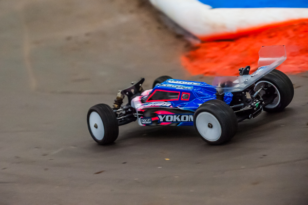 Yokomo's Ryan Maifield is sitting fifth overall, but a idler gear failure in Round 3 masks his potential at the event.