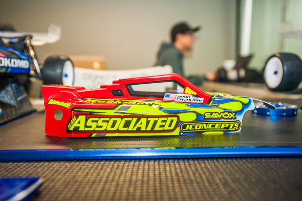 JConcepts also has a new F2 body for the B6 and this one sports newly signed Ryan Cavalieri's signature livery.