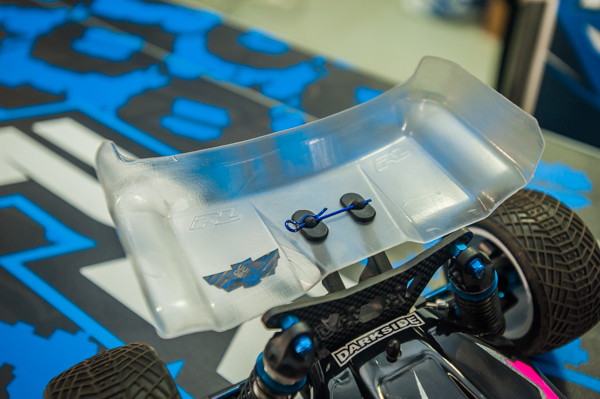 """Pro-Line has a new 6.5"""" wing, but it's so new there's still no official name."""
