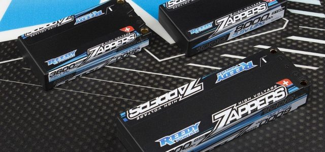 Reedy Zappers Hi-Voltage Low Profile And 1S Batteries