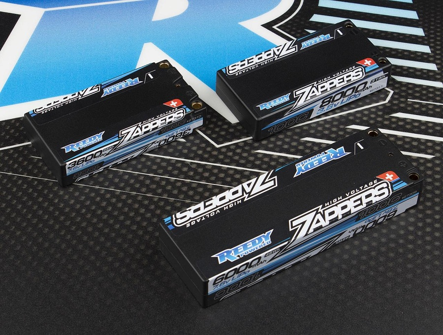 Reedy Zappers Hi-Voltage Low Profile And 1S Batteries (1)