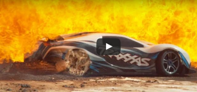 Traxxas XO-1: The Slow Mo Guys Roast and Wreck [VIDEO]