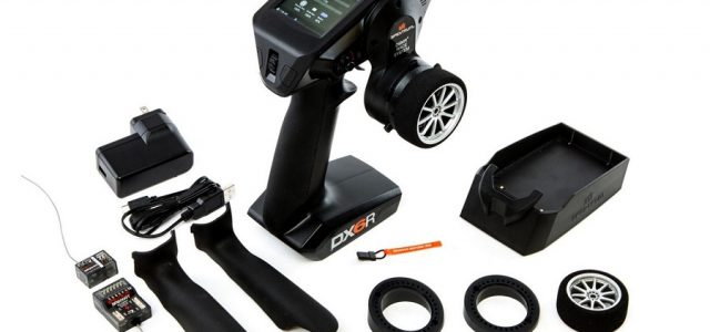 Spektrum DX6R Now Available With SR2010 Receiver