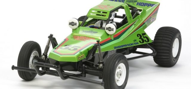 Tamiya's Grasshopper Returns, Now In Green Edition