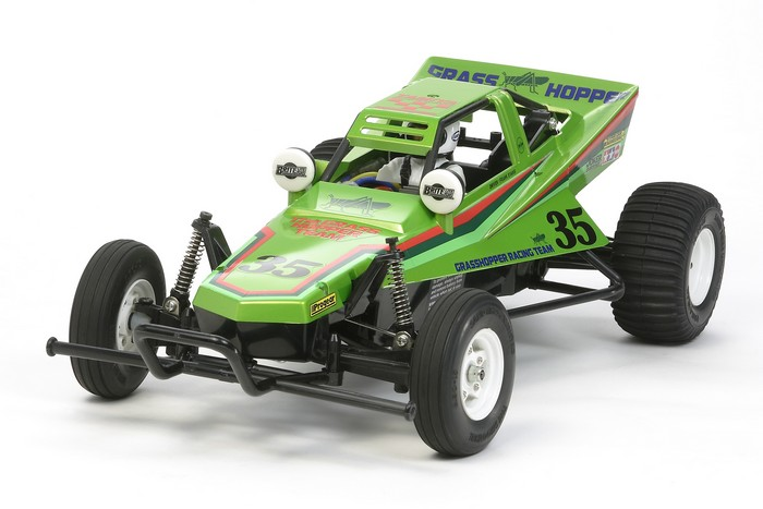 Tamiya Candy Green Edition Grasshopper Kit