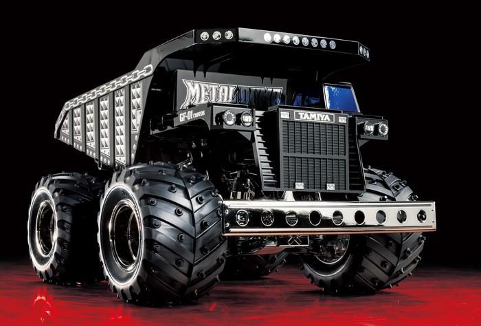 Tamiya Limited Edition Metal Dump Truck (2)