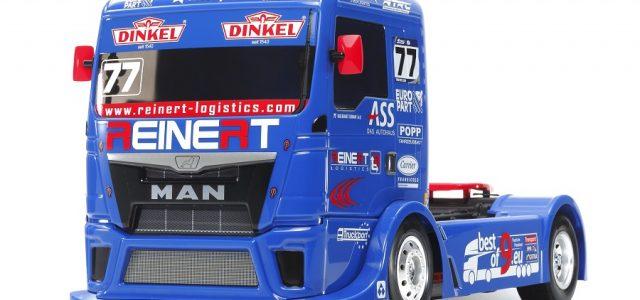 Tamiya Team Reinert Racing MAN TGS (TT-01 Type-E)
