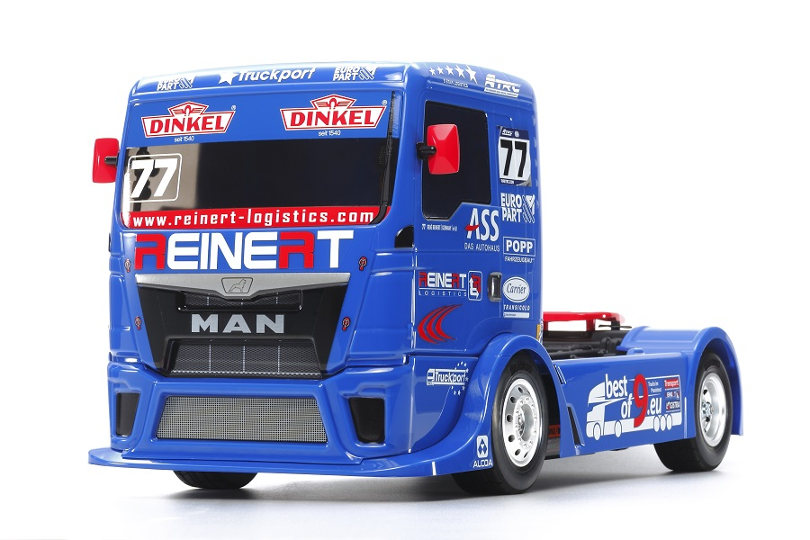 Tamiya Team Reinert Racing MAN TGS (TT-01 Type-E) (1)