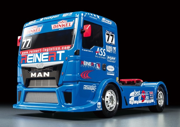 Tamiya Team Reinert Racing MAN TGS (TT-01 Type-E) (2)