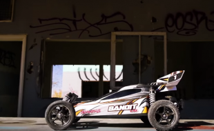 Traxxas Bandit VXL Abandoned Water Park Invasion [VIDEO]