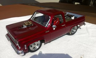 Custom Chevy K5 Blazer Drag Truck [READER'S RIDE]