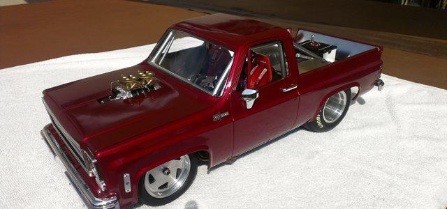 Custom Chevy K5 Blazer Drag Truck [READER'S RIDE]
