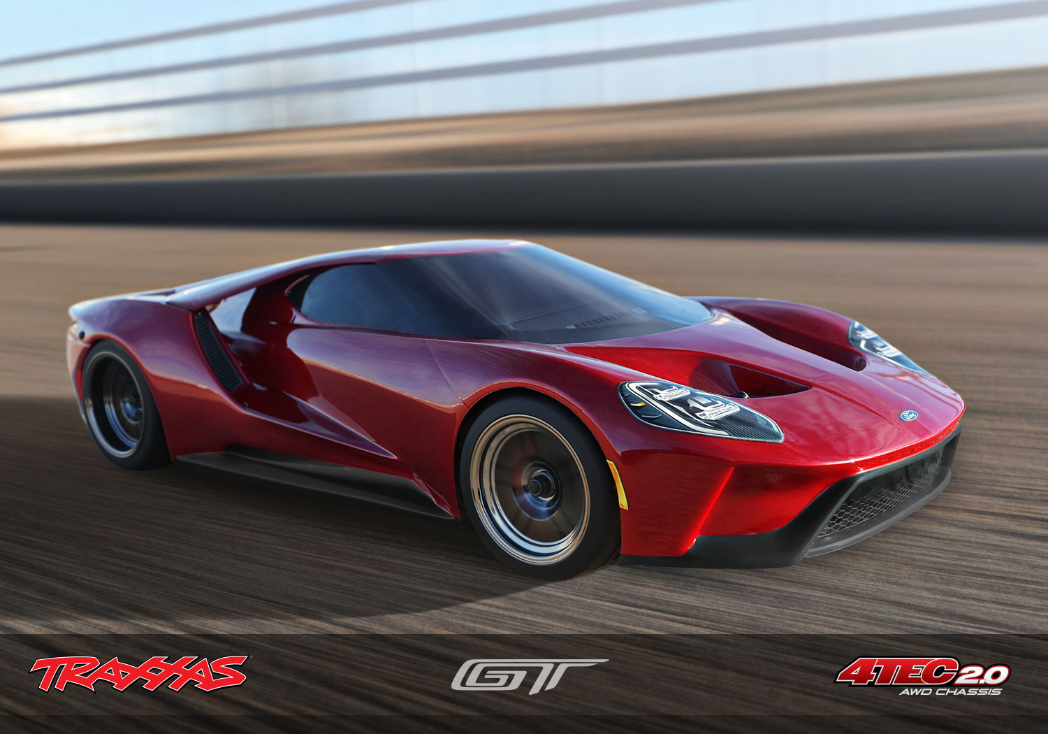 Traxxas   Ford Gt Hot