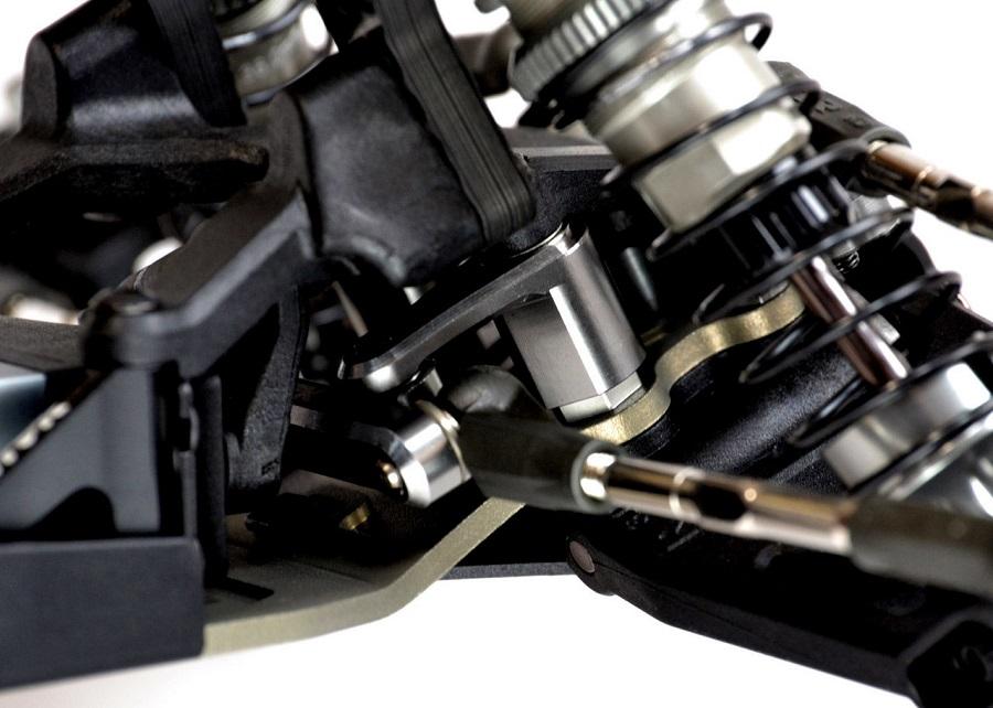Exotek 22 3.0 Black Edition Steering Rack Set (2)