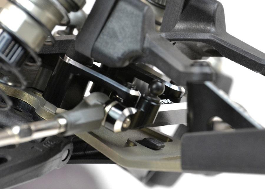 Exotek 22 3.0 Black Edition Steering Rack Set (3)
