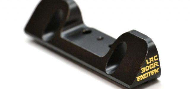 Exotek TLR 22 3.0 30gr Brass Rear/Front LRC Hanger