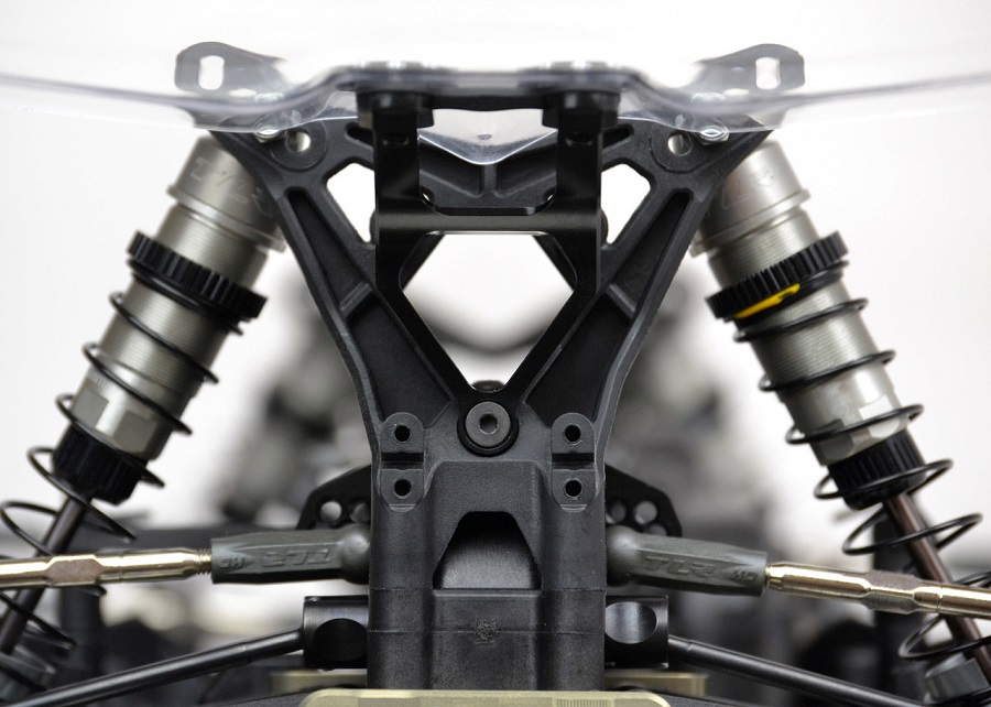 Exotek Wing Mounts & Steering Link For The TLR 22-4 (4)