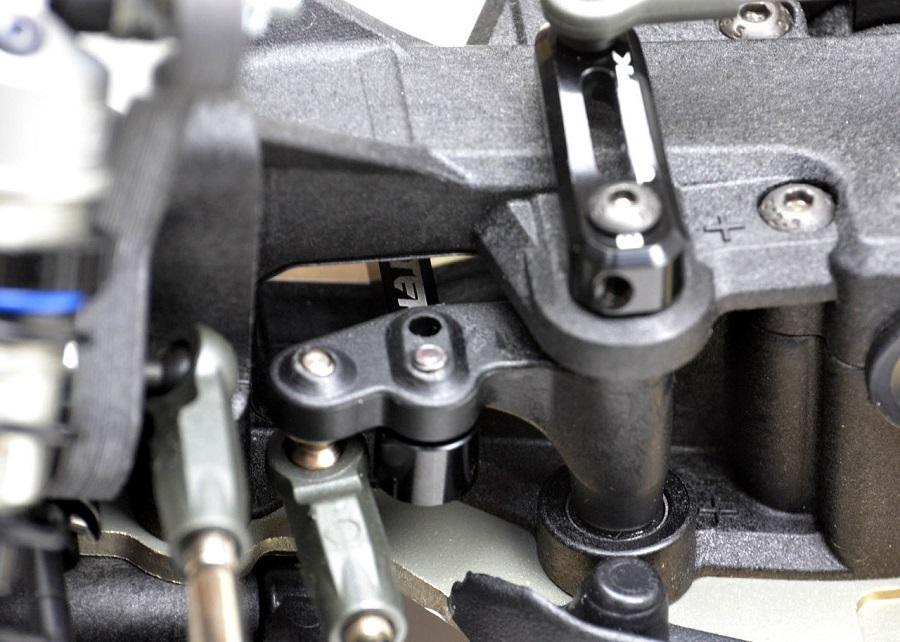 Exotek Wing Mounts & Steering Link For The TLR 22-4 (6)