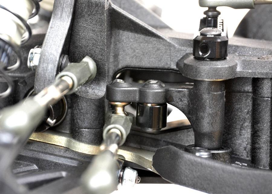 Exotek Wing Mounts & Steering Link For The TLR 22-4 (7)