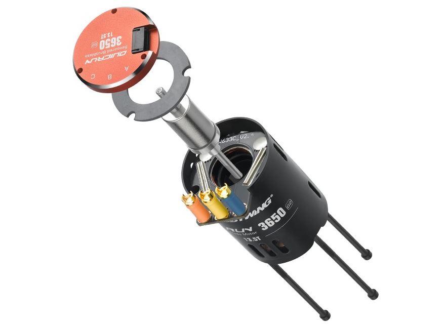 HOBBYWING QuicRun 3650 SD G2 Brushless Motors (5)