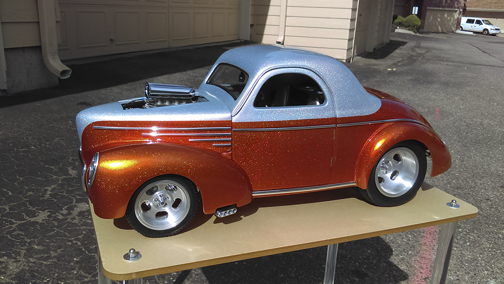 Custom, Hot Rod, Willys, On-Road, 1/8 scale, GMP