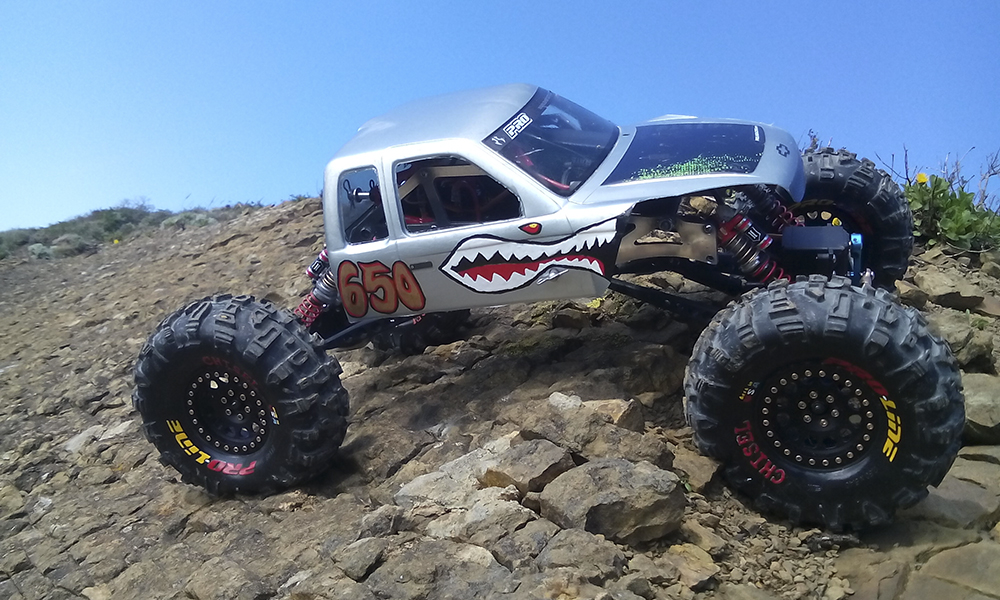 Axial Wraith, Pro-Line, Castle Creations, HPI, crawler, trail