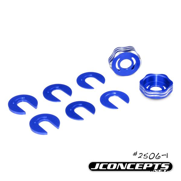 JConcepts RC8B3B3eT3 Arm Cap & Camber Shim (3)