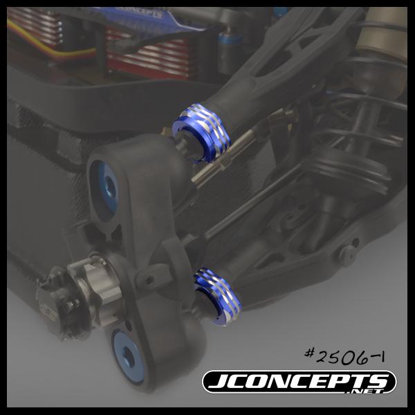 JConcepts RC8B3B3eT3 Arm Cap & Camber Shim (4)