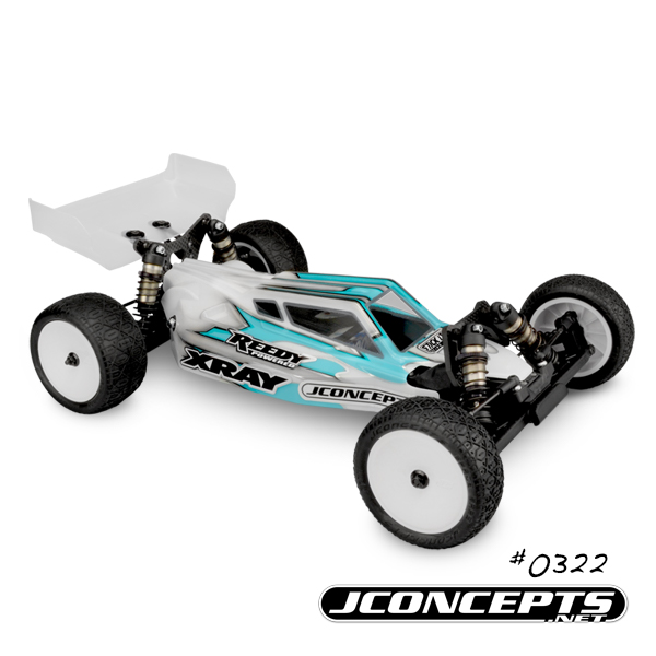 JConcepts S2 Body & Aero Wing For The '17 XRAY XB2 (2)