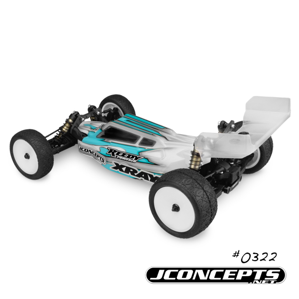 JConcepts S2 Body & Aero Wing For The '17 XRAY XB2 (3)