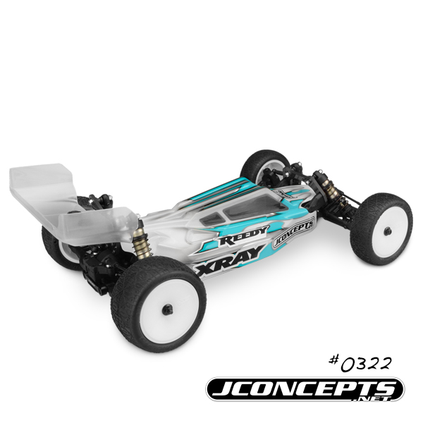 JConcepts S2 Body & Aero Wing For The '17 XRAY XB2 (4)