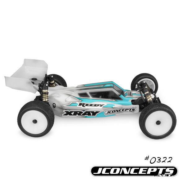 JConcepts S2 Body & Aero Wing For The '17 XRAY XB2 (5)