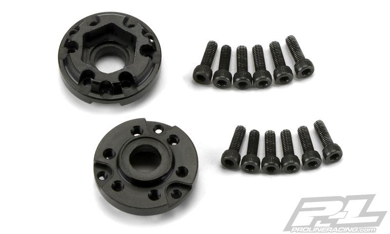 Pro-Line Brass Brake Rotor Weights & 12mm Hex Adapters (4)