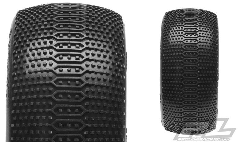 Pro-Line ElectroShot VTR Truggy Tires (2)