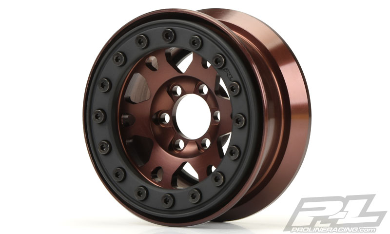 "Pro-Line Pro-Forge 1.9"" Anodized Alu Bead-Loc Wheels (2)"