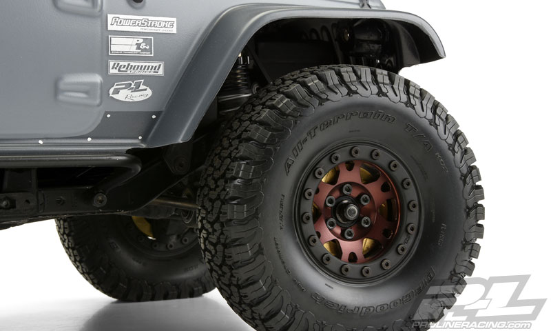 "Pro-Line Pro-Forge 1.9"" Anodized Alu Bead-Loc Wheels (4)"